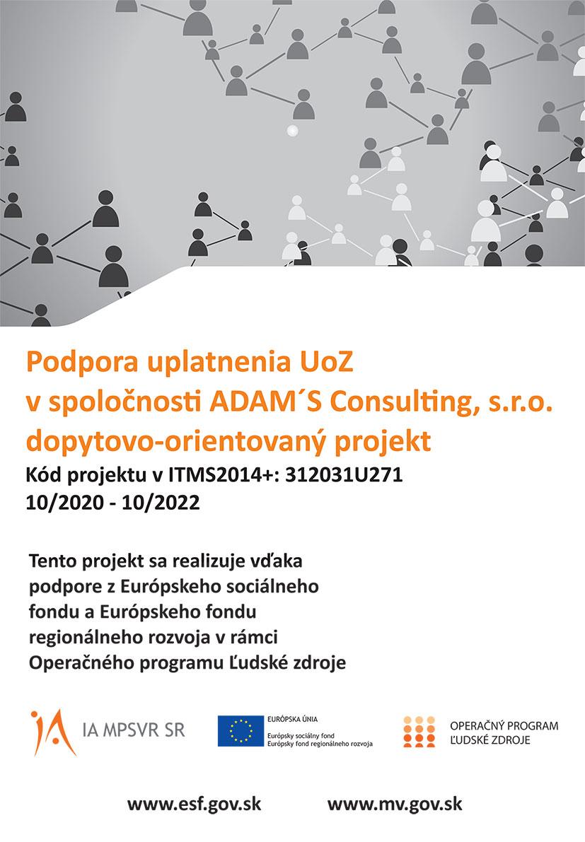 ADAM'S Consulting - info o projekte